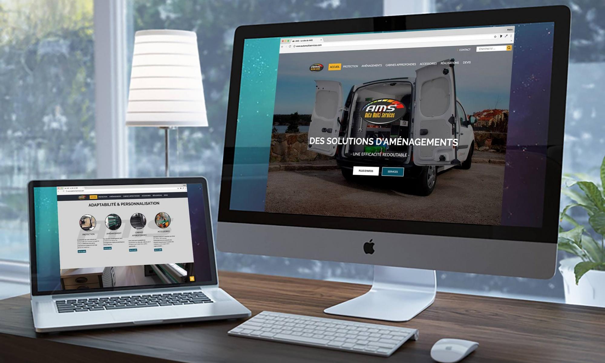 AMS automultiservices aménagement véhicules utilitaires