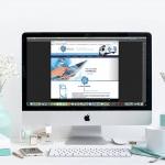 Création du site web cryorelax