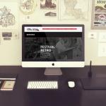 Création site web festival rétro St Aubin des Bois